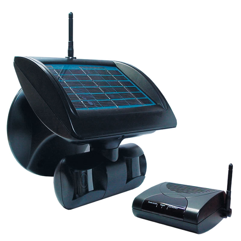 Vswsc Wireless Solar Powered Surveillance Camera With