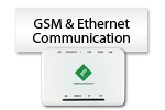 GSM & Ethernet Communication