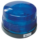 Flashing Blue Strobe Light