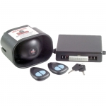 GTS 12 Volt Backup Battery Car Alarm with 2 Point Immobiliser