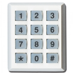 Wireless Mini Numeric Keypad White