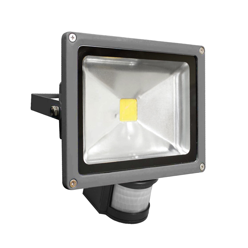 LEDFL20W5KS: Residential 20W 5000K LED Sensor Flood Light