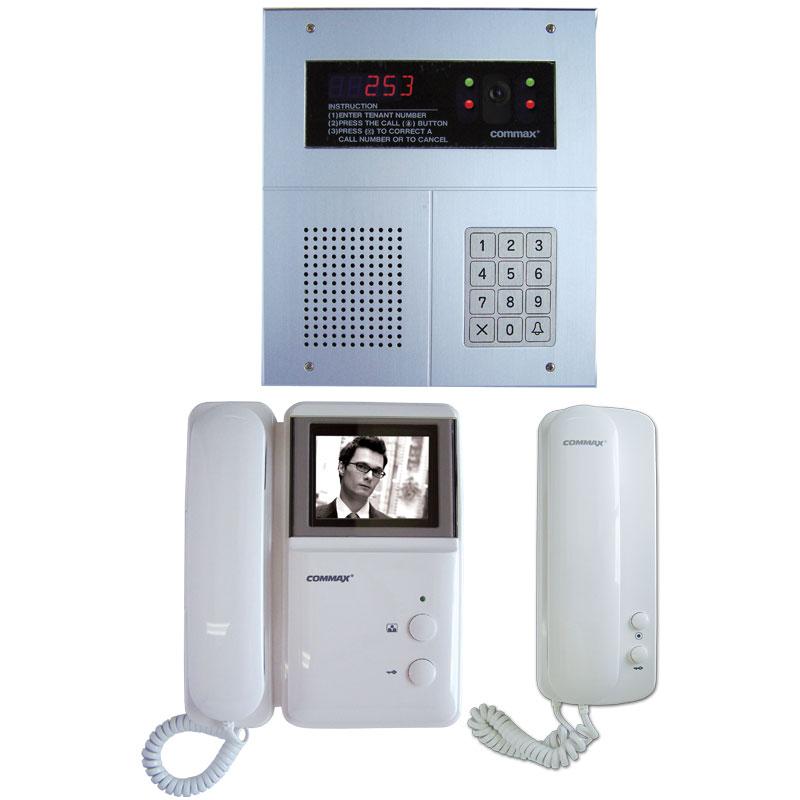intaptvkitb apartment black white digital video intercom