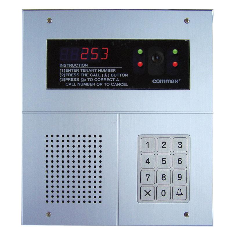 intdrc240 digital keypad type video door station rhinoco technology. Black Bedroom Furniture Sets. Home Design Ideas