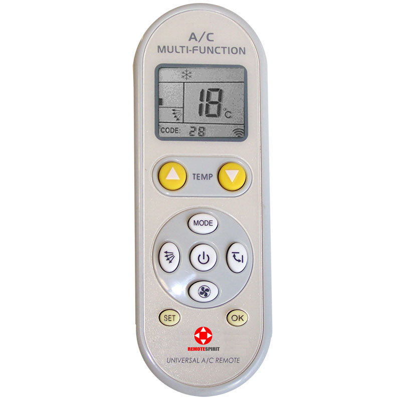 Rs10 Universal Air Conditioner Remote Rhinoco Technology